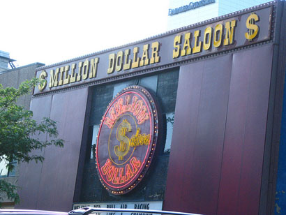 million dollar saloon Richard Burkhart/Savannah Morning News Francisco Moyer, Windsor Forest, ...